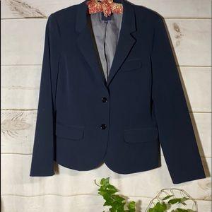 Gap; Navy Blue Blazer; Jacket; 8